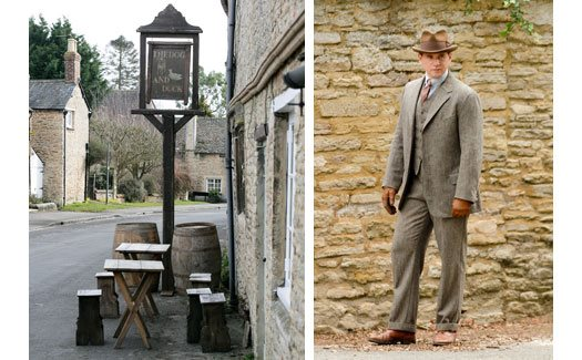 Downton Abbey film locations   Oxfordshire Cotswolds