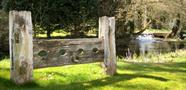 The old stocks in Glympton ©Elaine Argent