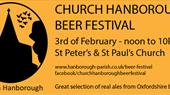 Church Hanborough Beer Festival 3 February 2018