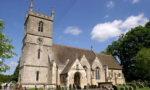 St Martin's Church in Bladon