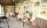 The Cafe at Cotswold Woollen Weavers in Filkins