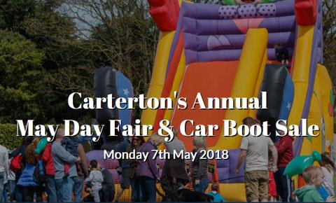 Car Boot Sale Oxfordshire  May Monday
