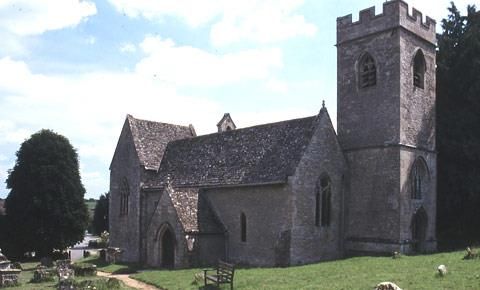 St Nicholas Church, Asthall