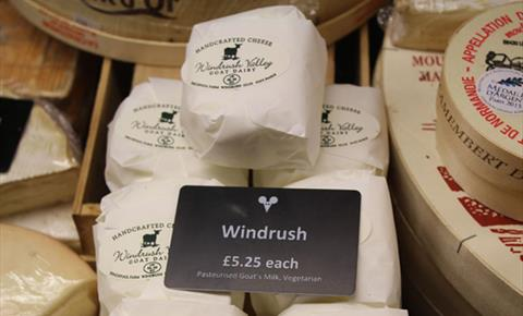 The Cotswold Cheese Company shop in Burford
