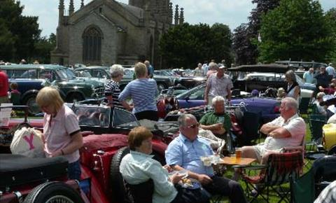 Churchill Vintage and Classic Car Show 10 June 2018