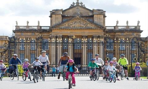 Family Cycling Day at Blenheim Palace 12 August 2018