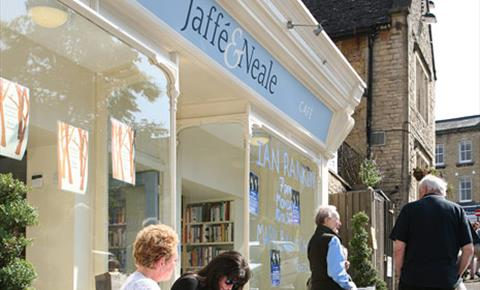 Jaffe & Neale, independent bookshop in Chipping Norton