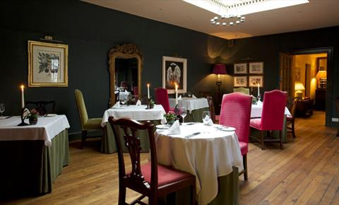 The Lamb Inn Burford dining room