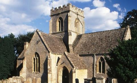 St Kenelm's church in Minster Lovell near Witney