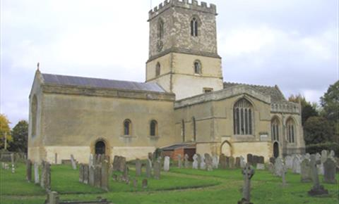 St Michael's Church Stanton Harcourt