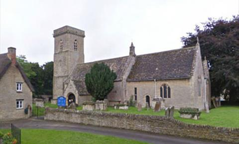 St Britius Church in Brize Norton