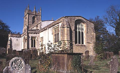 St Andrew's Church in Great Rollright