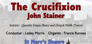 Stainer: The Crucifixion at St Mary's Church, Witney
