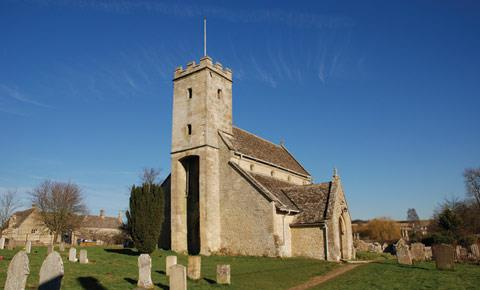 St Mary's Church in Swinbrook