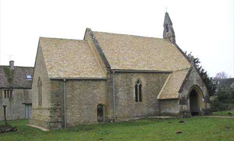 St Peter's Church in Wilcote (photo courtesy of Oxfordshire Churches)