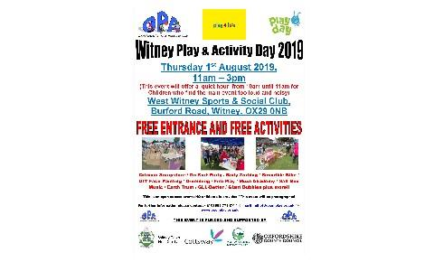 Witney Play Day