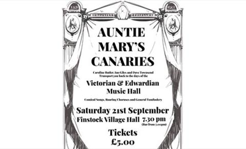 Auntie Mary's Canaries-Victorain & Edwardian Music Hall